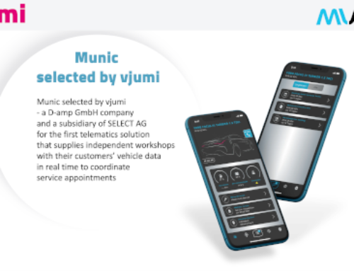 Munic.io selected by Vjumi – a D-amp GmbH company and a subsidiary of SELECT AG